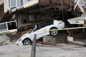 Hurricane Sandy. The Aftermath in New York — Stock Photo