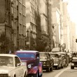 Stock Photo: Classic Car at 5av Manhattan