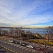 View of the Hudson River. Brooklyn - Stock Photo