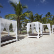 Wedding Gazebo on the Beach — Stock Photo