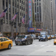 NEW YORK CITY - Dec 5: 6 av- famous tourist attraction featured — Stok fotoğraf
