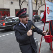 Stock Photo: Salvation Army. Jingle bells, jingle bells, Jingle all way!