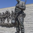 Korean War Memorial in Atlantic City, New Jersey — Stock Photo
