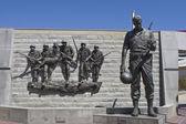 Korean War Memorial in Atlantic City, New Jersey — Stock Photo