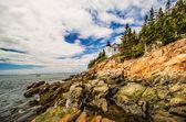 Bass Harbor Lighthouse, Acadia National Park, Maine, USA  — Стоковое фото