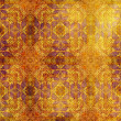 Stock Photo: Art vintage grunge background with damask patterns