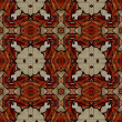 Art nuvo colorful ornamental vintage pattern — Stok fotoğraf
