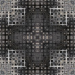 Art vintage geometric ornamental pattern - Photo