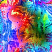 Fond lumineux abstrait art — Photo