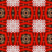 Art eastern ornamental traditional pattern — Photo