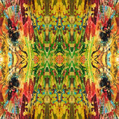 Art eastern national traditional pattern — Stock Photo