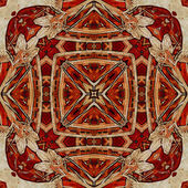 Art nuvo colorful ornamental vintage pattern — ストック写真