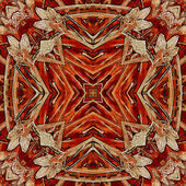 Art nuvo colorful ornamental vintage pattern — 图库照片