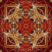 Art nuvo colorful ornamental vintage pattern — Stock fotografie