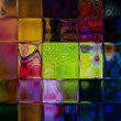 Art glass colorful texture background — Stock Photo #16770043