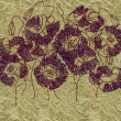 Art floral ornament vintage background — Stockfoto