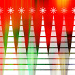 Art colorful christmas background with space for text — Stock Photo #16791853