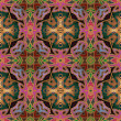 Art eastern ornamental traditional pattern — Foto Stock