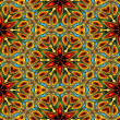 Art eastern ornamental traditional pattern - Stock Photo