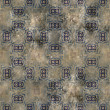 Art vintage damask seamless pattern background — Stok fotoğraf