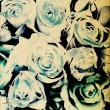 Art floral vintage colorful background - Photo