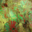 Art floral grunge graphic background - Photo