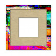 Art photo frame, isolated on white background - Foto de Stock
