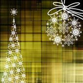 アート クリスマスの背景 — ストック写真