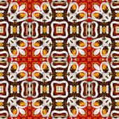 Art eastern ornamental traditional pattern — 图库照片