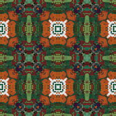 アート東の装飾的な伝統的なパターン — ストック写真