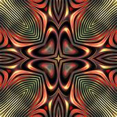 искусство винтажные очки геометрический орнамент — Стоковое фото