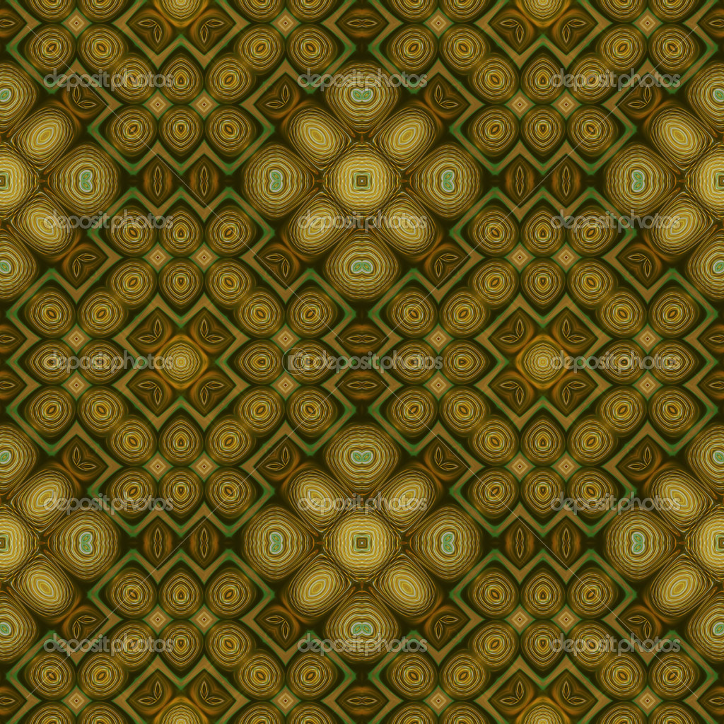 Art eastern ornamental traditional pattern in green  Stock Photo #16793171