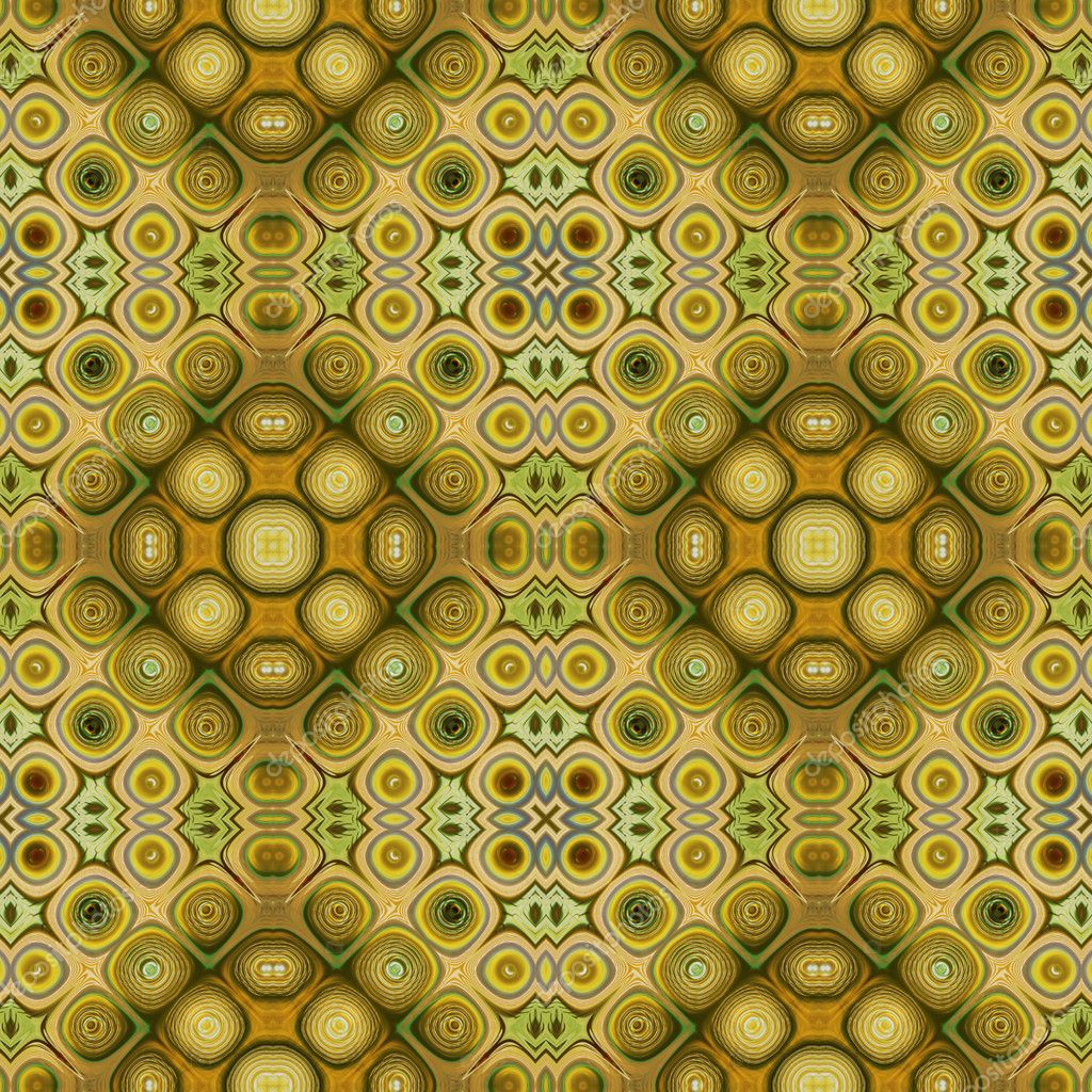 Art eastern ornamental traditional pattern in green  Stock Photo #16793185