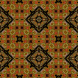 Art eastern national traditional pattern — Photo