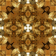 Art nouveau colorful ornamental vintage pattern — ストック写真