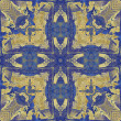 Art nouveau colorful ornamental vintage pattern — Lizenzfreies Foto