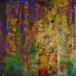 Stock Photo: Art grunge bright stripes background