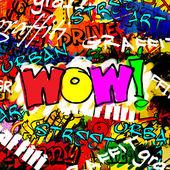 Art urban graffiti raster background — Stock Photo