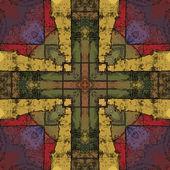 Konst östra nationella traditionella mönster — Stockfoto
