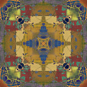 Art colorful ornamental vintage pattern — Photo