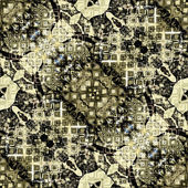 Jugendstil Vintage Muster bunt — Stockfoto