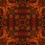 新艺术风格炫彩装饰复古花纹 — 图库照片