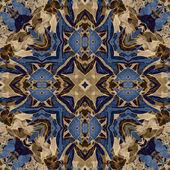 Art nouveau coloridas ornamentais vintage padrão — Foto Stock