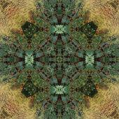 Art nouveau colorful ornamental vintage pattern — Stock Photo