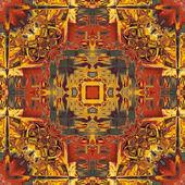 Patrón vintage ornamentales colorido estilo art nouveau — Foto de Stock