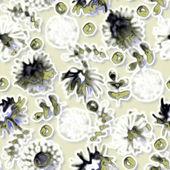 Sanat cam çiçek renkli arka plan — Stok fotoğraf