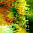 Art abstract grunge green textured background — Photo
