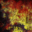 Art abstract grunge gold textured background — Stockfoto