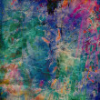 Foto de Stock  : Art abstract rainbow pattern background