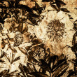 Art grunge floral vintage background — Photo